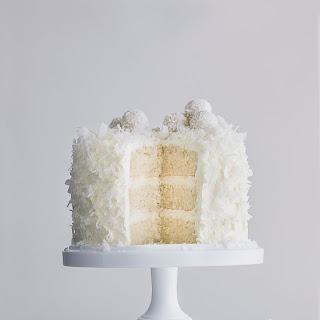 White Velvet Snowball Cake.