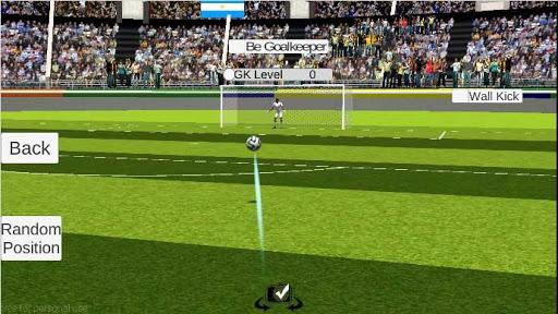 The king of the free kick -soccer  άμαξα προς μίσθωση screenshots 2
