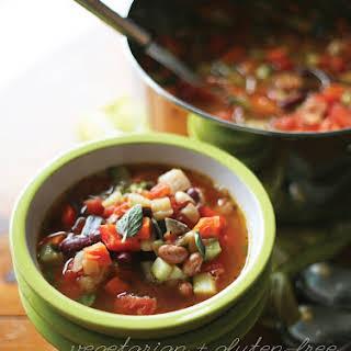 Vegetarian Three Bean Chili.