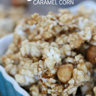 Salted Caramel Corn Recipe!