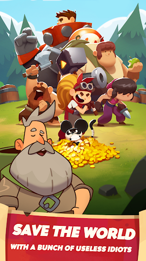 Almost a Hero - Idle RPG Clicker  screenshots 2