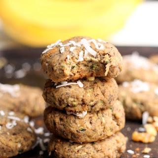 Flourless Banana Zucchini Cake Cookies.