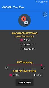 App COD Gfx Tool Free\ud83d\udd27 (NO BAN) APK for Windows Phone
