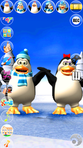 Talking Pengu and Penga Penguin  screenshot 3