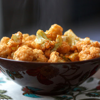 Garlic and Paprika Roasted Cauliflower.