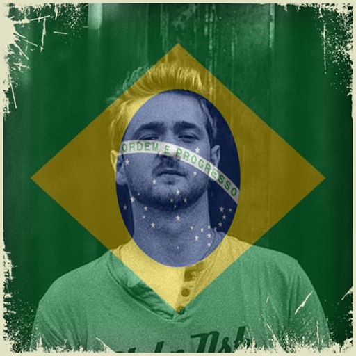 Brazil Flag On Face Maker : Photo Editor