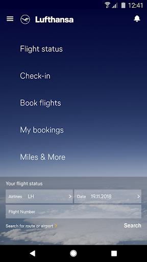 Lufthansa 7.7.0 screenshots 1