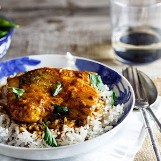 Curried Baked Hake Recipe