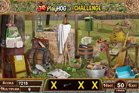 Challenge #226 Well New Free Hidden Objects Games - náhled