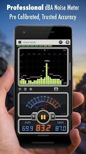 Decibel X PRO – Sound Meter dBA, Noise Detector 4.4.3 Mod APK (Unlock All) 1