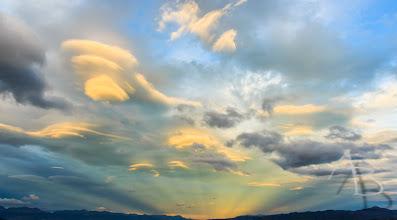 Photo: Shining Clouds