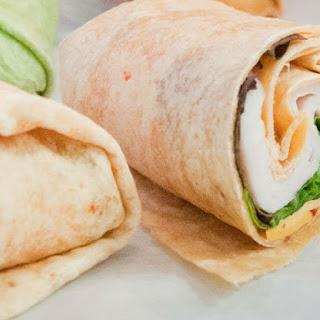 Healthy Turkey And Lettuce Wrap