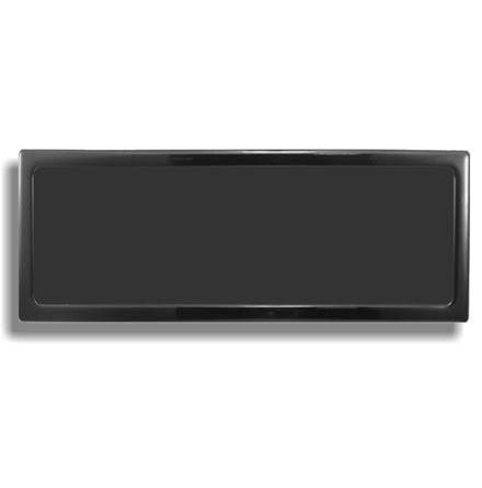 DEMCiflex magnetisk filter 3x140mm, rektangulær, sort