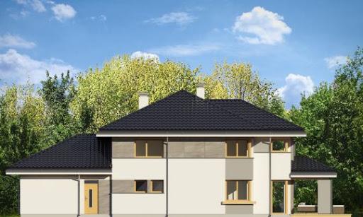 Dom z widokiem 3 - Elewacja tylna