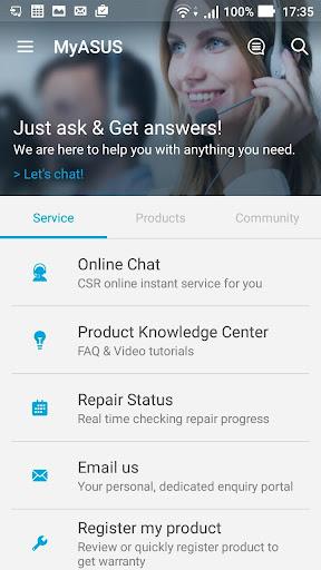 MyASUS - Service Center screenshot 5
