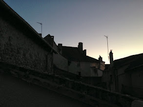 Photo: Rooftops at dusk
