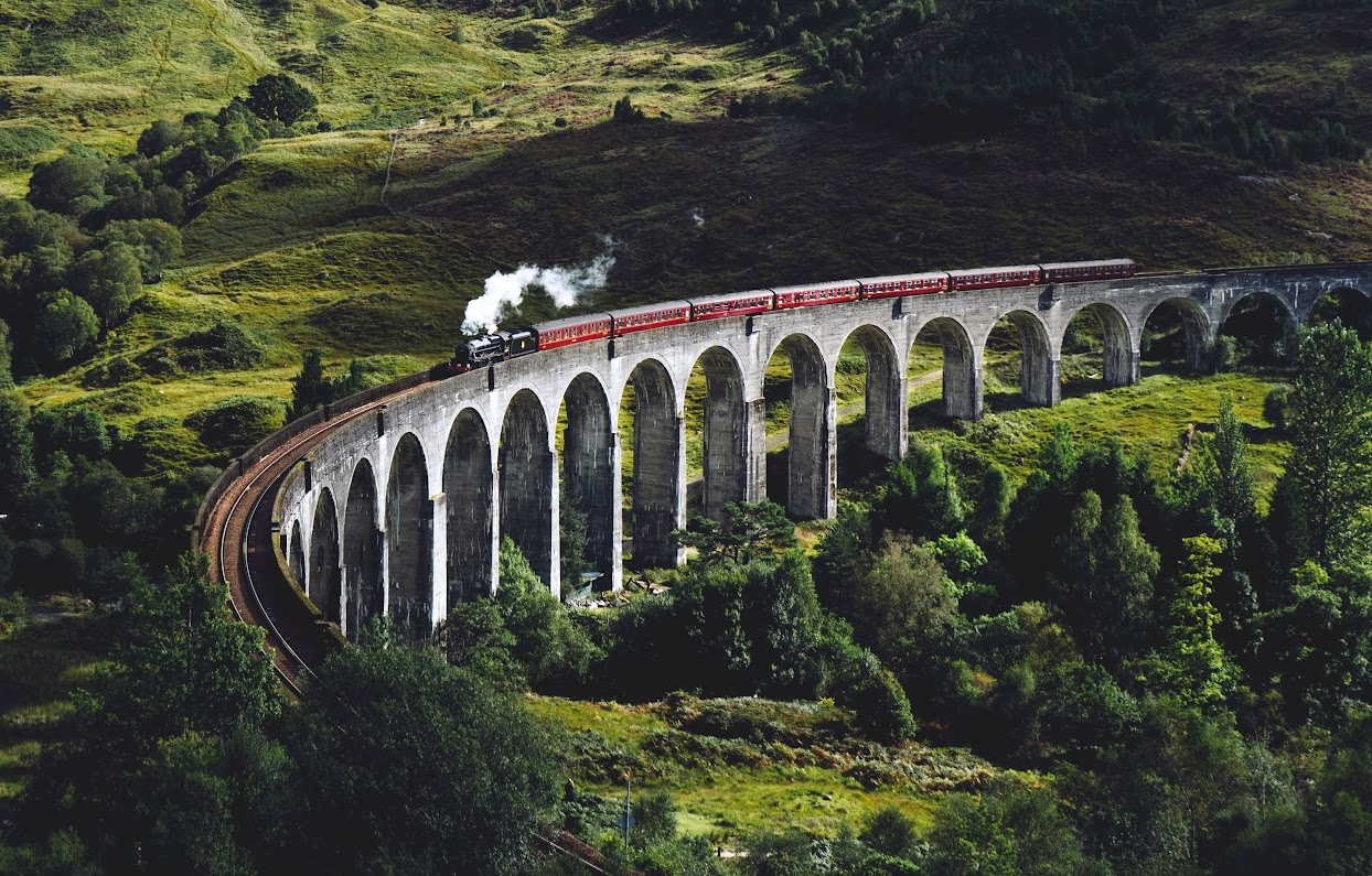 tren harry potter