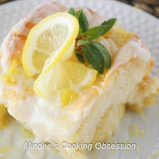Lemon Danish Sweet Rolls.