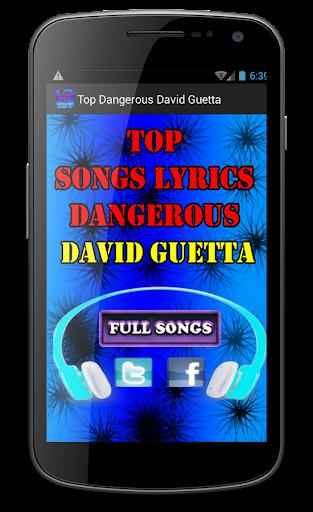 Top Dangerous David Guetta