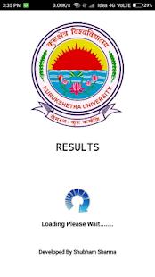 Kuk University Result - náhled