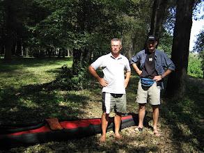 Photo: die waren dabei: Kurt und Guido. Noch war das Wetter bestens
