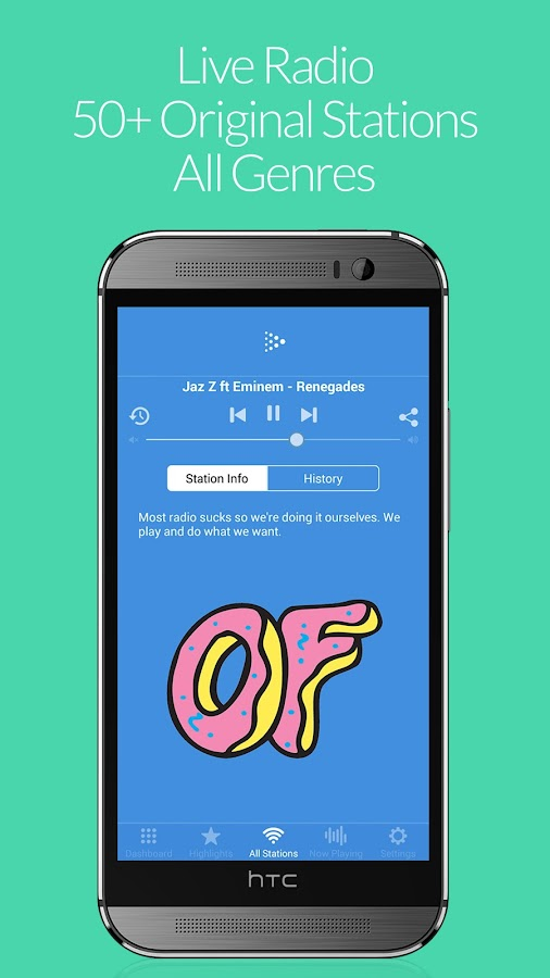 Dash Radio- Free Music, No Ads- screenshot