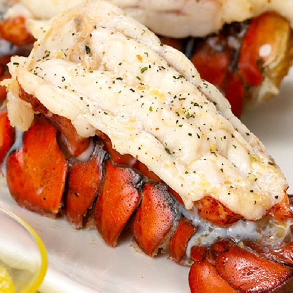 Broiled Lobster with Garlic Recipe