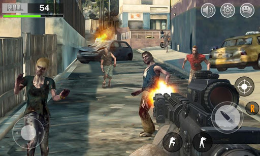 Zombie Hunter Dead Target Shooting King 3D 1.03 screenshots 1