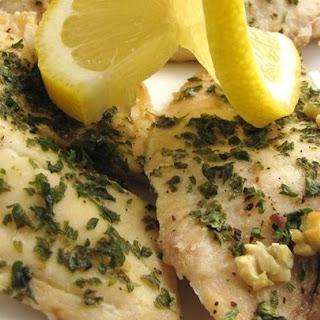 Lemon Garlic Tilapia