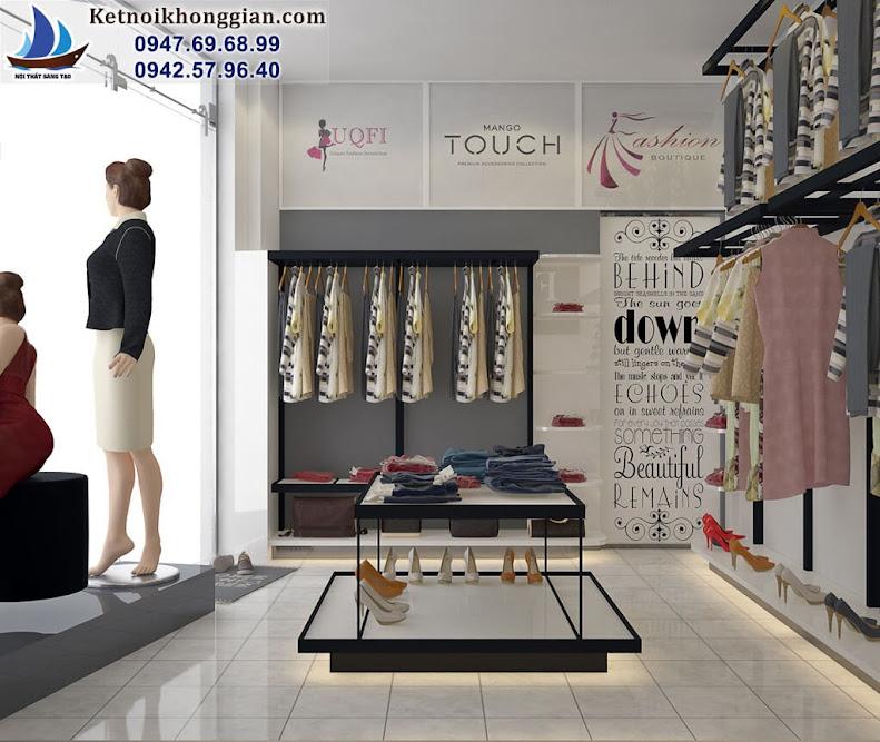 thiết kế shop thời trang uy tín, chuyên nghiệp
