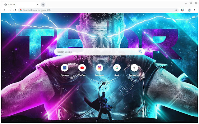 New Tab - Thor