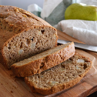 Organic Pear Bread.