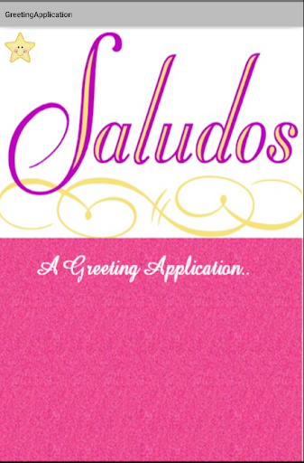 SALUDOS-A Greeting Application
