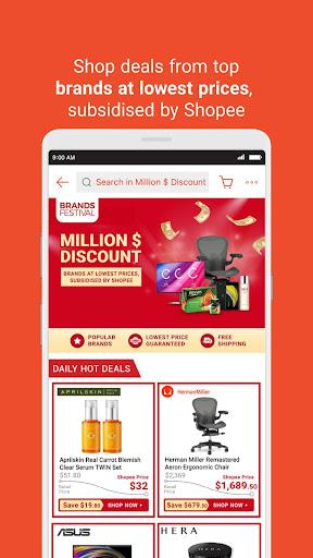 Shopee Brands Festival 2.58.11 screenshots 4