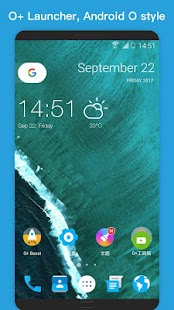 O Plus launcher - 2018 Oreo Launcher, Android™ O 8 Screenshot