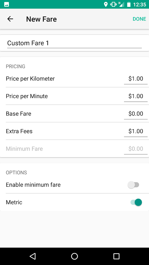 Meter For Uber And Lyft Android Apps On Google Play