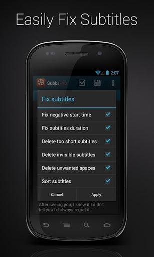 Subbr Pro: Subtitle Editor  screenshots 3