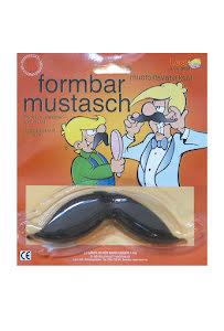 Mustasch, formbar