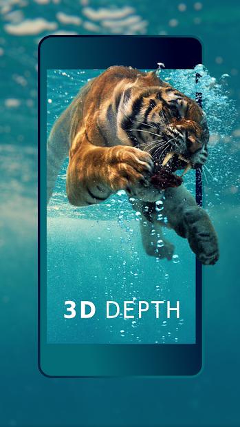 3D Wallpaper Parallax - 4D Backgrounds Android App Screenshot