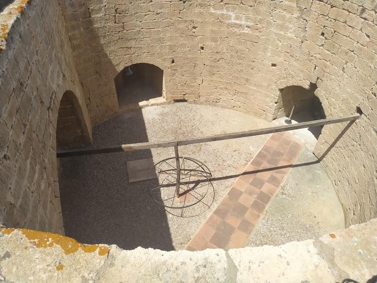 Torre de la Noria que no está abierta al público