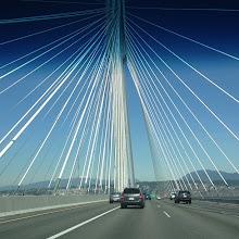 Photo: Port Mann Bridge, Surrey, BC #intercer #bridge #road #street #water #river #mapleridge #pittmeadows #britishcolumbia #canada #surrey #polls #blue #life #color #car #cars #speed - via Instagram, http://instagram.com/p/X0cKZypfsh/