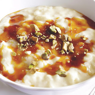 Caramel Swirl Rice Pudding