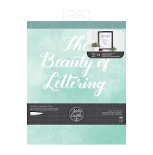 Kelly Creates Practice Pad 8X10 50/Pkg - The Beauty Of Lettering