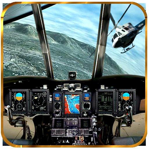 ヘリコプタードライビングシミュレータ 休閒 App LOGO-硬是要APP