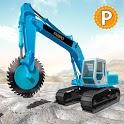 Heavy Excavator Rock Mining Stone Cutter Simulator icon