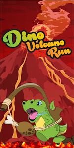 Dino Volcano Run screenshot 0