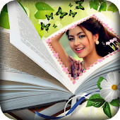 Books Photo Frame