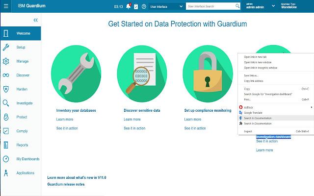 Guardium Documentation Extension