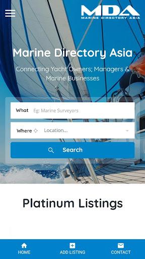 Marine Directory Asia screenshots 2