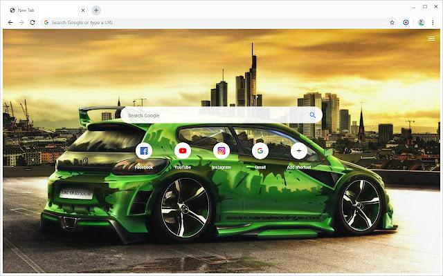 New Tab - Volkswagen